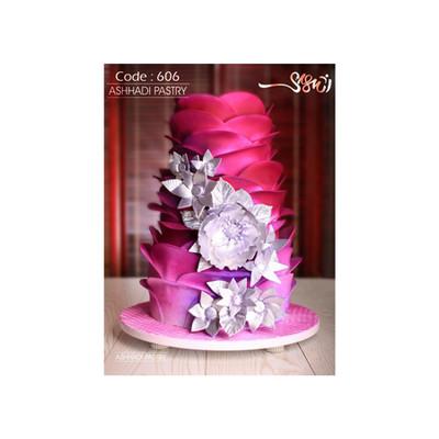 کیک عروسی کد 606