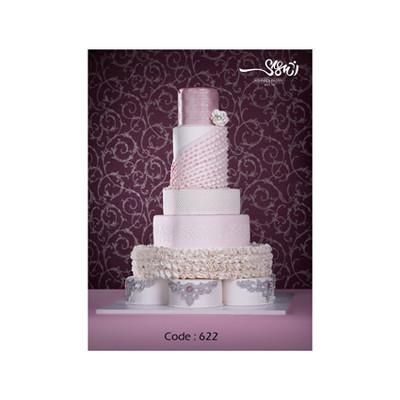 کیک عروسی کد 622