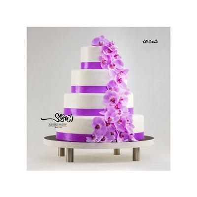 کیک عروسی کد 525