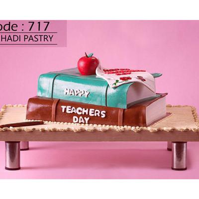 کیک سفارشی کد 717