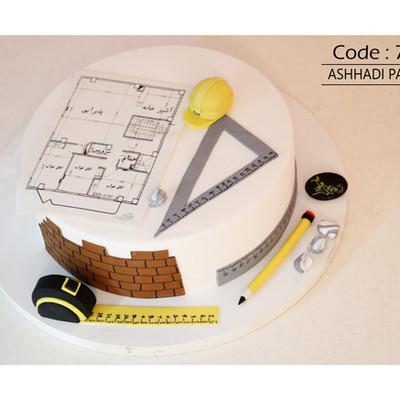 کیک سفارشی کد 727