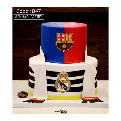 کیک سفارشی کد B47