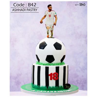 کیک سفارشی کد B42