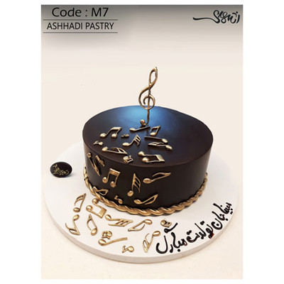 کیک سفارشی کد M7