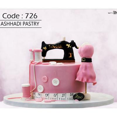 کیک سفارشی کد 726