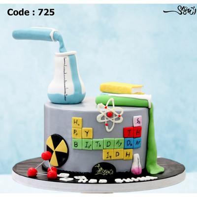 کیک سفارشی کد 725