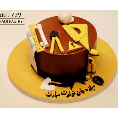 کیک سفارشی کد 729