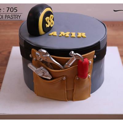 کیک سفارشی کد 705