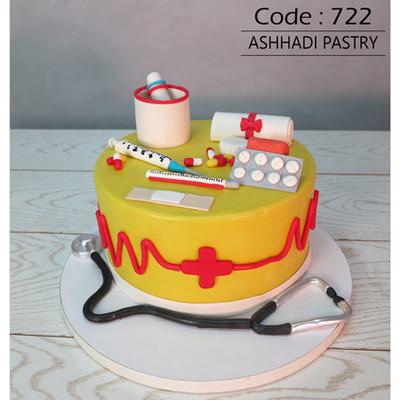 کیک فوندانت کد 722