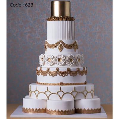 کیک عروسی کد623