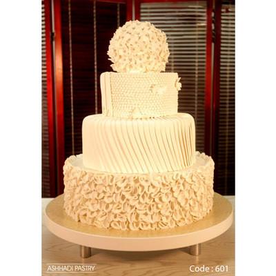 کیک عروسی کد 601