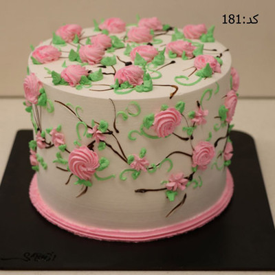 کیک خامه ای کد181