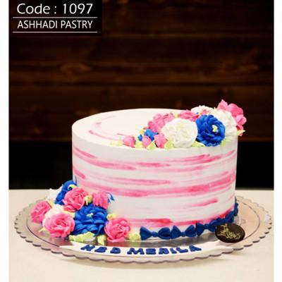کیک خامه ای کد1097