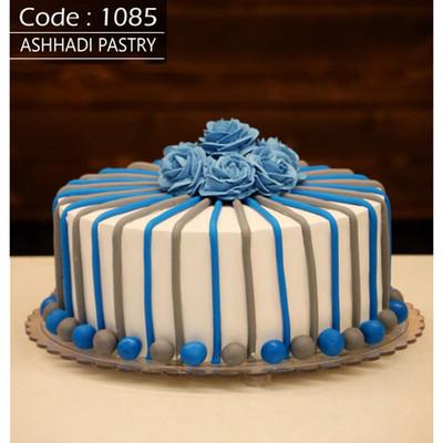 کیک نیمه فوندانت کد1085
