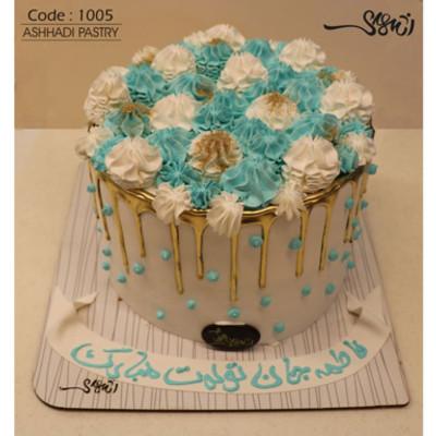 کیک خامه ای کد1005
