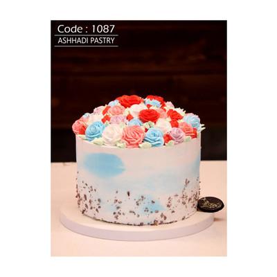 کیک خامه ای کد 1087