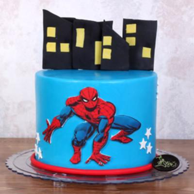 کیک اسپایدرمن کدSpa-(7)