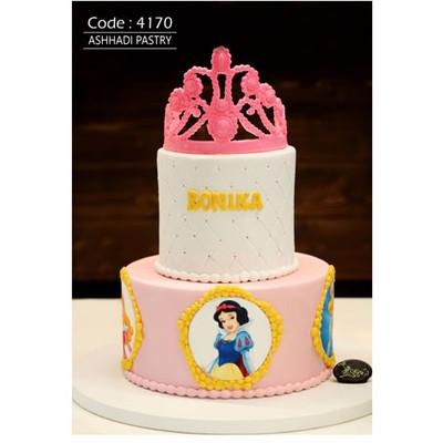 کیک سفارشی کد4170