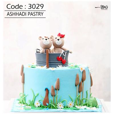 کیک سفارشی کد3029