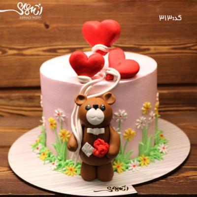 کیک سفارشی کد313