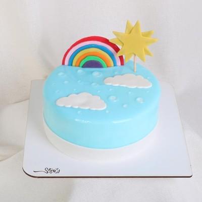 کیک خامه کد122