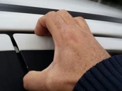 قطعه مخصوص جلوگیری از خم شدن درب 206 و رانا ضدسرقت وازگن vazgen