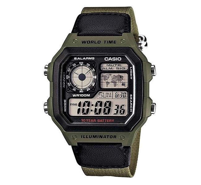 ساعت مچی مردانه کاسیو مدل AE-1200WHB-3B