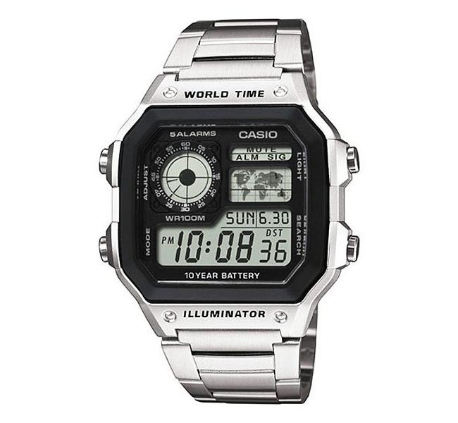 ساعت مچی مردانه کاسیو مدل AE-1200WHD-1A