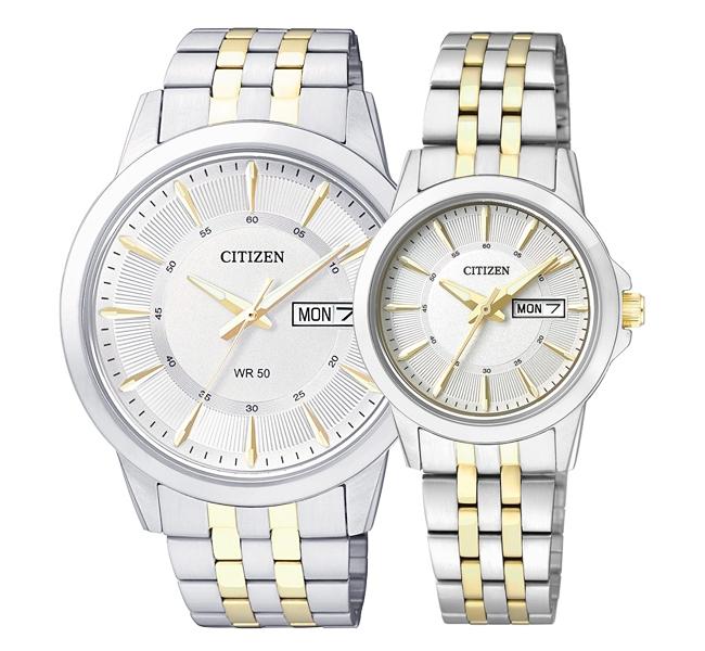 ساعت مچی ست سیتی زن مدل EQ0608-55A و BF2018-52A