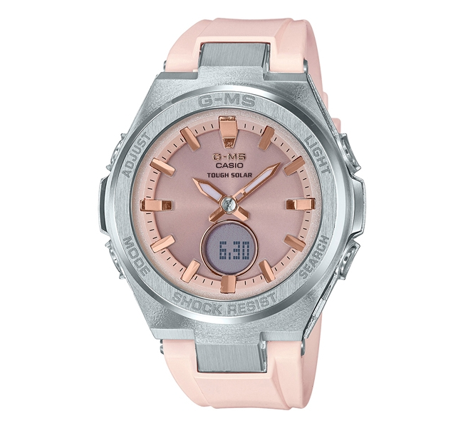 ساعت مچی زنانه بیبی جیشاک مدل MSG-S200-4ADR
