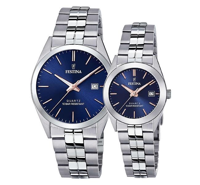 ساعت مچی ست فستینا مدل F20437/B | F20438/B