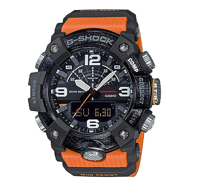 ساعت مچی مردانه جیشاک مدل GG-B100-1A9DR