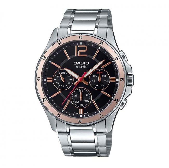 ساعت مچی مردانه کاسیو مدل MTP-1374D-1A2VDF