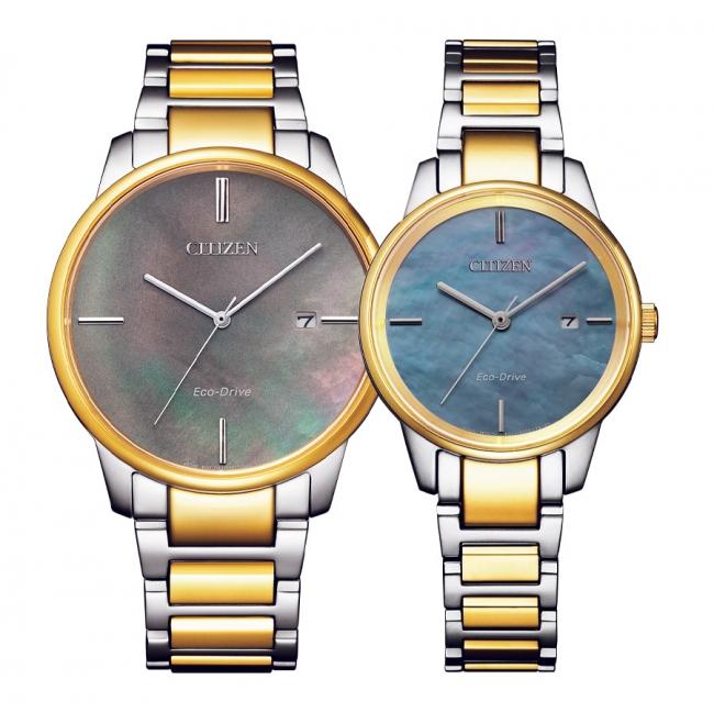 ساعت مچی ست سیتیزن مدل BM7524-87Y و EW2594-84Y