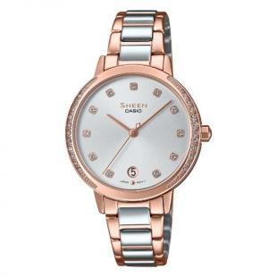 ساعت مچی زنانه کاسیو مدل SHE-4056SPG-7AUDF