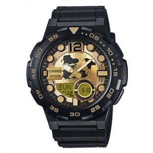 ساعت مچی مردانه کاسیو مدل AEQ-100BW-9A