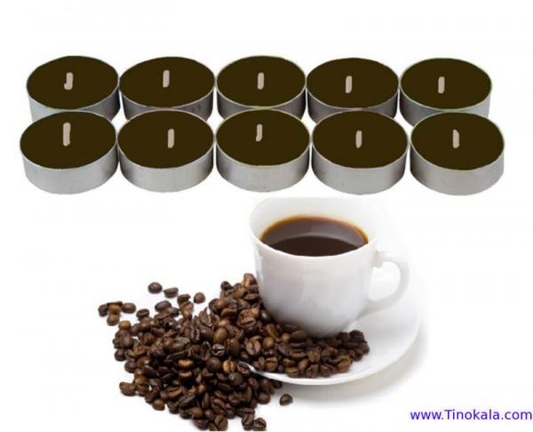 شمع وارمر 10عددی با رایحه قهوه