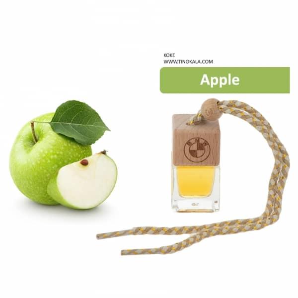 خوشبو کننده کوکه مدل آویزی طرح مکعب با رایحه سیب