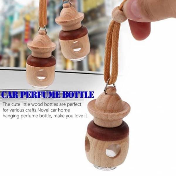 خوشبو کننده کوکه مدل آویزی طرح چوب با رایحه سیب &دارچین