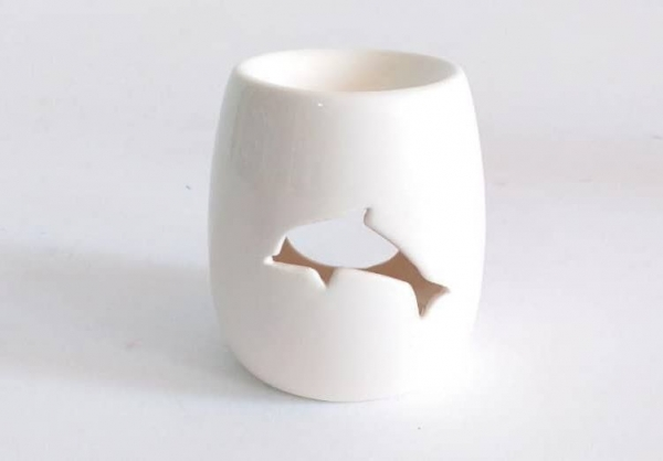 اسانس سوز سفید طرح دلفین