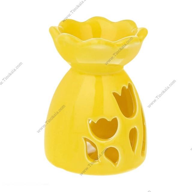 اسانس سوز طرح لاله رنگ زرد