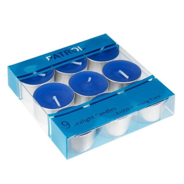 وارمر 9 تایی رنگ آبی