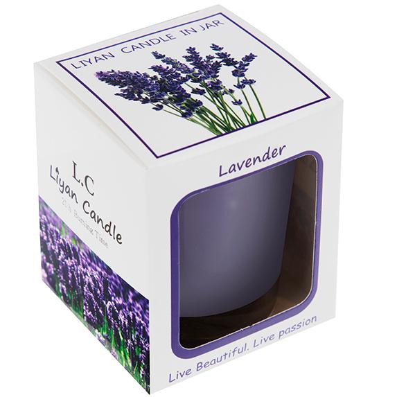 شمع لیوانی معطر لیان کندل رایحه Lavender