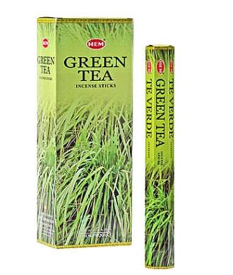 عود چای سبز HEM