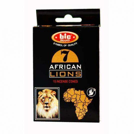 عود هفت شیر آفریقا مدل مخروطی