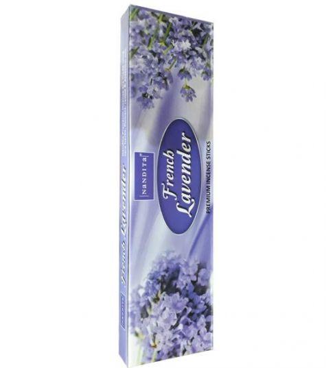 عود صندل دست ساز لوندر فرش French Lavender(بسته بزرگ صدگرمی)