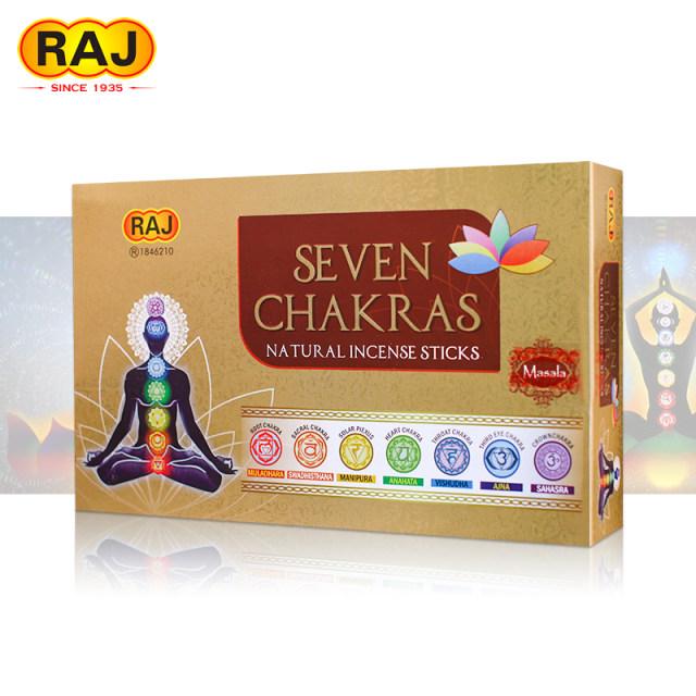 عود دست ساز  هفت چاکرا seven chakras(هفت بسته عود)
