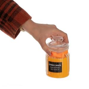 شمع جار معطر لیان کندل رایحه Lemon