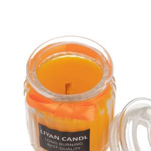 خرید شمع رایحه پرتقال