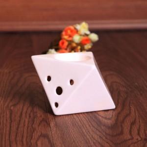 پخش اسانس سوز سفید طرح مدرن چندضلعی (کدa25)